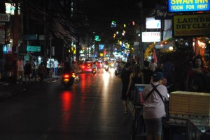 Bangkok Streets at Night