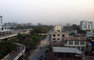 Mandalay Skyline