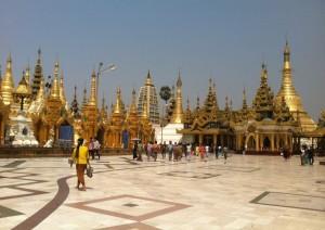 Yangon Shwe Dagon PagodaYangon Shwe Dagon Pagoda