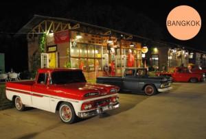 Rot Fai Market Bangkok Vintage Cars