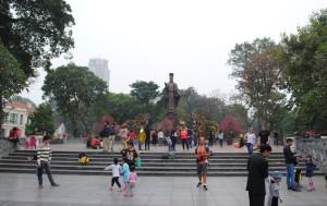 Hanoi statue