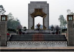 View of Ho CHi Minh Mausoleum