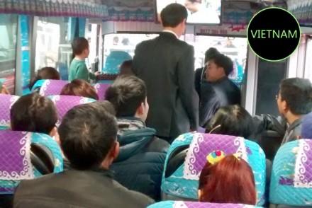 Vietnamese Public bus