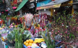 Tet Market in Hanoic