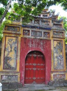 Imperical Citadel Hue, Doorway