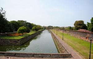 Moat Imperial Citadel Hue