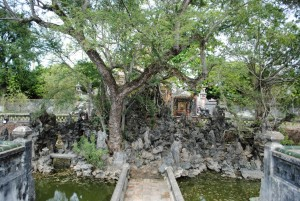 tree shrine imperial citadel Hue