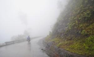 Vietnam Hue Motorbike in the Rain