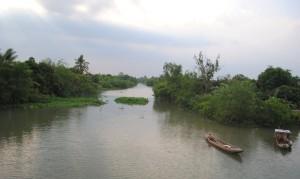 Mekong Delta An Binh Island river View