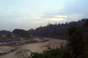 Taman Negara River Sunset