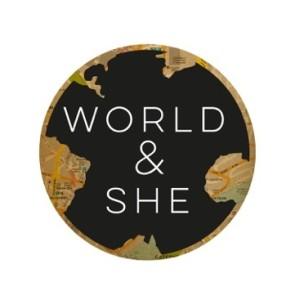 World & She Logo