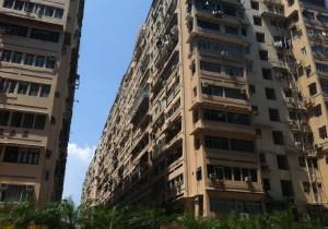 Hong Kong Mong Kok Apartment Block