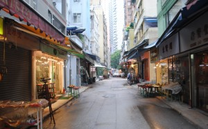 Hong Kong Cat Street Antique Market