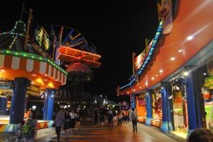 Ocean Park Hong Kong at Night
