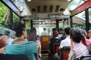 Peak Tram Hong Kong Interio