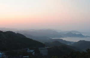 Jiufen Sunset View from Teahouse