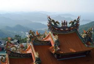 Jiufen Seaview Temple Spirited Away