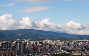 Hualien Taiwan Skyline View