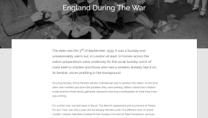 England During the Second World War - EnglandExplore