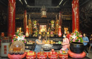 Taichung Temple internal