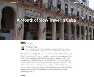 Uncharted Cuba